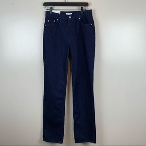 Zara NWT Heritage Straight Slim Fit High Rise Jean